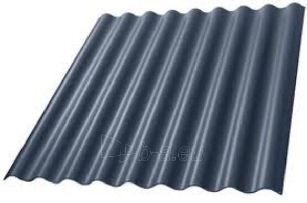 Non-asbestos slate sheets 1250x1150 Eurofala graphite Paveikslėlis 1 iš 2 237120000133