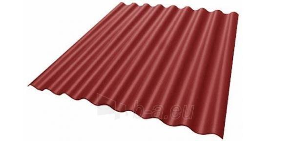 Beasbestinio šiferio lakštas 1875x1150 'Eurofala' raudonas Paveikslėlis 1 iš 2 237120000145