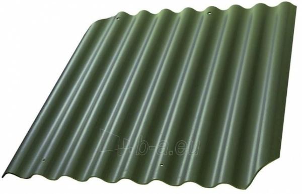Non-asbestos slate sheets 625x1020 'Eurofala' green Paveikslėlis 1 iš 1 237120000198
