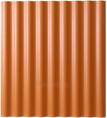Non-asbestos slate sheets 625x1150 Eurofala clay Paveikslėlis 1 iš 2 237120000130
