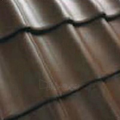 Benders Exklusiv-S tipo dažytos čerpės ruda Paveikslėlis 1 iš 1 237170000086