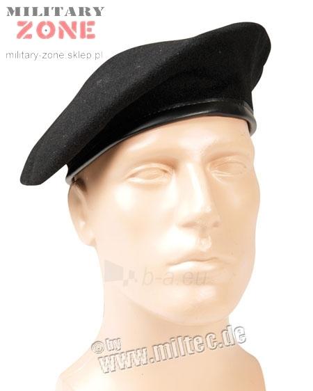 Beretė karinė juoda Paveikslėlis 1 iš 1 251510700018