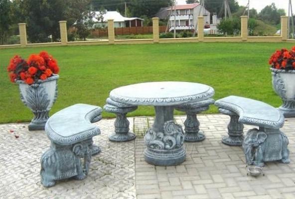 Concrete table Paveikslėlis 1 iš 1 237070000018