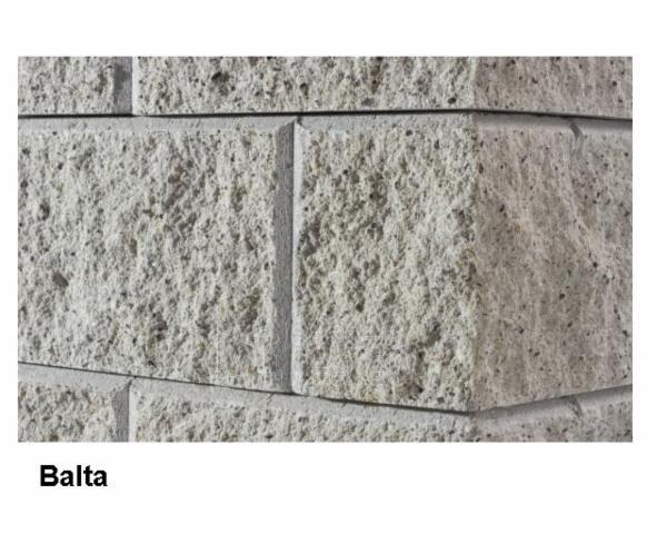 Concrete fence block Nojus A-1(white) Paveikslėlis 1 iš 9 239320300010