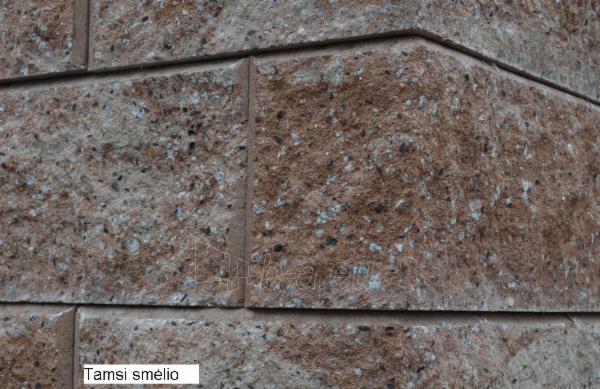 Betoninis tvoros pamūros blokelis B-1 (tamsi smėlio) Paveikslėlis 1 iš 8 239320300013