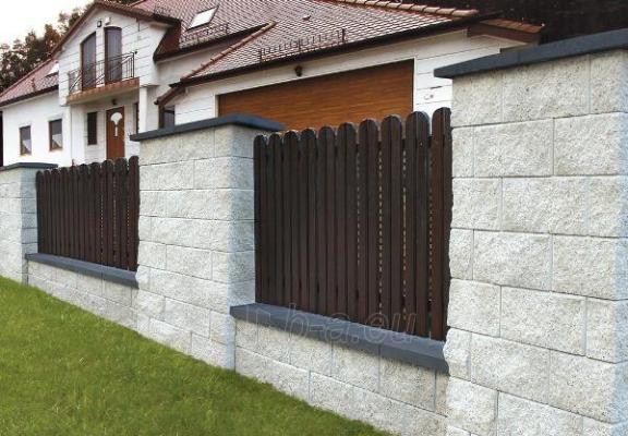 Concrete fence block Nojus A-3 (white) Paveikslėlis 1 iš 8 239320300017