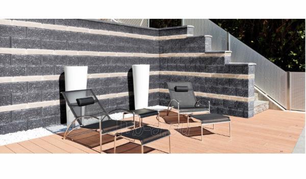 Concrete fence block Nojus A-3 (brown) Paveikslėlis 7 iš 8 239320300021