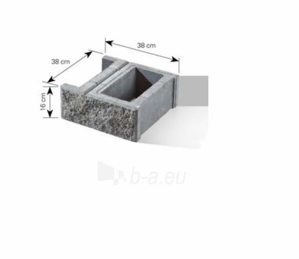 Concrete fence block Nojus B-1 Golden autumn (D-1) Paveikslėlis 5 iš 9 239320300022