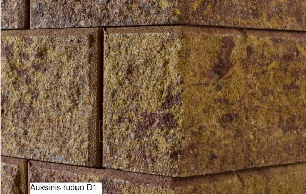 Concrete fence block Nojus B-1 Golden autumn (D-1) Paveikslėlis 1 iš 9 239320300022