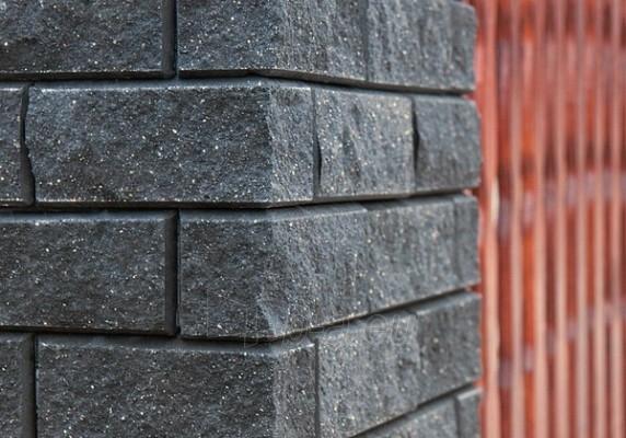 Betoninis tvoros stulpo blokelis Nojus A-2 (grafitinis) Paveikslėlis 2 iš 3 239320100004