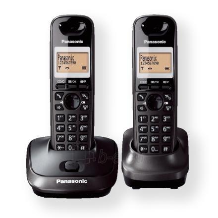 Bevielis telefonas PANASONIC KX-TG2512FXT Paveikslėlis 1 iš 1 250233000049