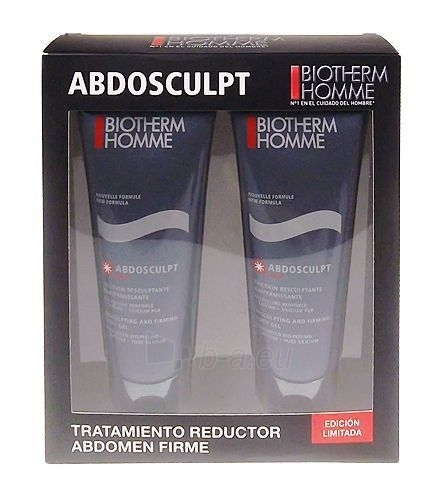 Biotherm Homme Abdosculpt Firming Body Gel Double Cosmetic 400ml (Damaged box) Paveikslėlis 1 iš 1 250850200588