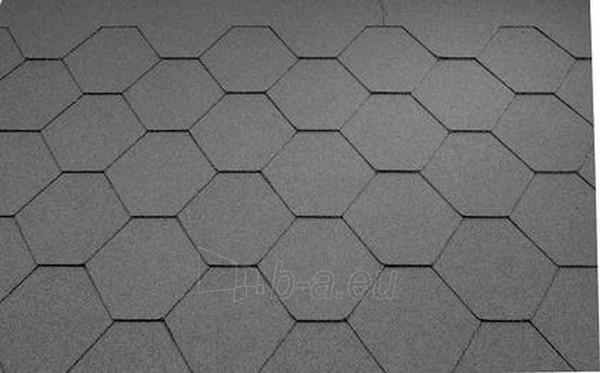 Bitumen roof shingles Super KL grey Paveikslėlis 1 iš 1 237140000039