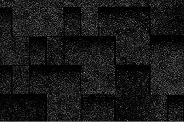 Bituminės čerpelės Super Rocky juoda Paveikslėlis 1 iš 1 237140000059