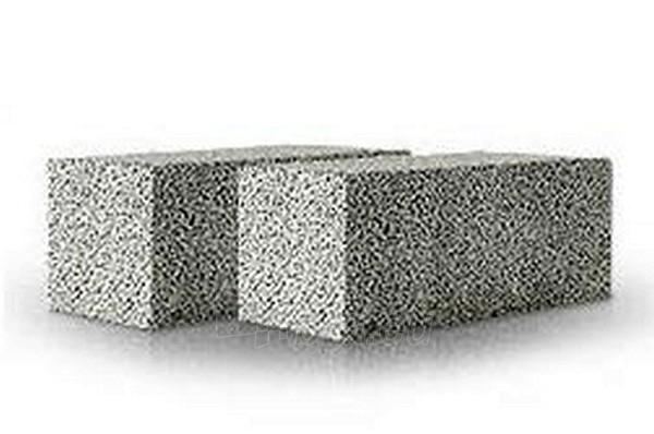 Ceramsite blocks 'Fibo', 490x185x100 mm. Paveikslėlis 1 iš 1 237622000001