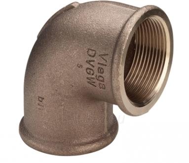 Bronzinė alkūnė VIEGA, d 3/4'', 90*, vidus-vidus Paveikslėlis 3 iš 4 270201100018