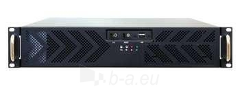 CHIEFTEC UNC-210TR-B 2U CASE BLACK 400W Paveikslėlis 1 iš 1 250255900174