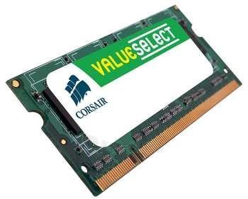 CORSAIR DDR2 4GB SODIMM 800MHZ CL5 Paveikslėlis 1 iš 1 250255110842