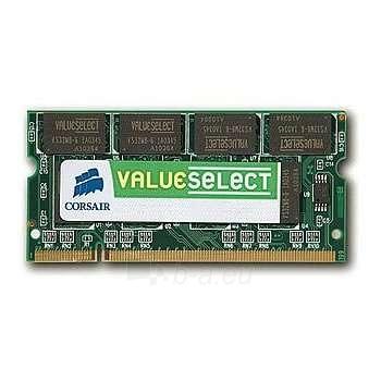 CORSAIR DDR2-667 1G CL5 SODIMM UNBUFFERE Paveikslėlis 1 iš 1 250255110852