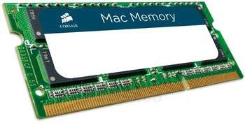 CORSAIR DDR3-1333 2*8GB SODIMM APPLE Paveikslėlis 1 iš 1 250255110873