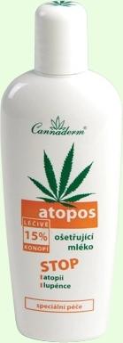 Cannaderm Atopos Nursing Milk Cosmetic 150ml Paveikslėlis 1 iš 1 250850200001