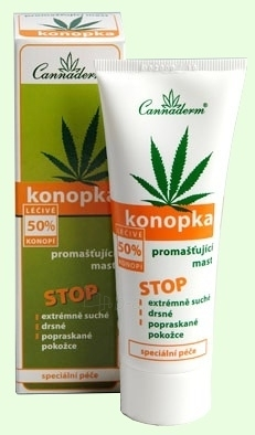 Cannaderm Konopka Ointment Cosmetic 75g Paveikslėlis 1 iš 1 2508940000004
