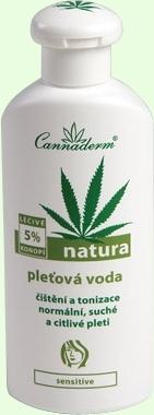 Cannaderm Natura Dry Skin Lotion Cosmetic 200ml Paveikslėlis 1 iš 1 250850200006