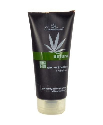 Cannaderm Shower scrub with peat Cosmetic 200ml Paveikslėlis 1 iš 1 250850300001