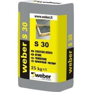 Cementinis mišinys S 30 (10-50mm) 25 kg Paveikslėlis 1 iš 1 236750000051
