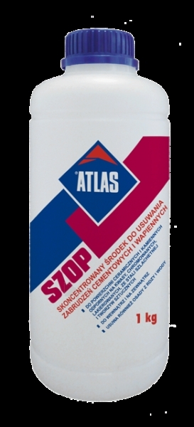 ATLAS SZOP - concentrated cement-and-Lime residues remover 1kg Paveikslėlis 1 iš 2 236690000015