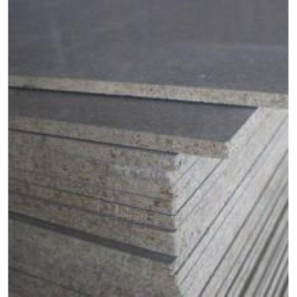 The cement-bonded particle board (Amroc) 1200x2600x24 mm (3,12 sq.m.) Paveikslėlis 1 iš 1 237360000022