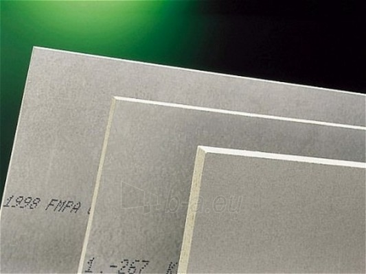 The cement-bonded particle board (Cetris) 1250x3350x18 mm (4,1875 sq.m.) Paveikslėlis 1 iš 1 237360000006