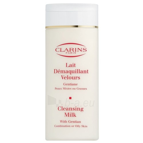 Clarins Cleansing Milk With Gentian Cosmetic 200ml Paveikslėlis 1 iš 1 250840700018
