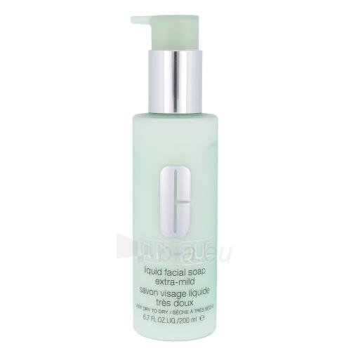 Clinique Liquid Facial Soap Extra Mild Cosmetic 200ml Paveikslėlis 1 iš 1 250896000008