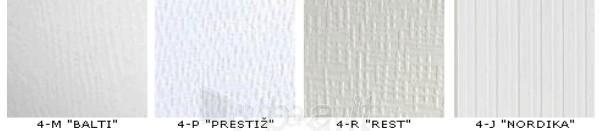 Dailylentės ECOTEX Baltos spalvos M, P, R, J plotis 285 mm Paveikslėlis 2 iš 2 237742000000