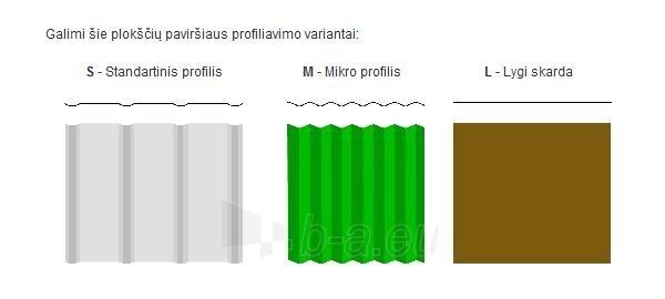 Daugiasluoksnė sieninė plokštė 'Sandwich' 120 mm (polistireninio putplasčio užpildo) Paveikslėlis 1 iš 5 237190300004