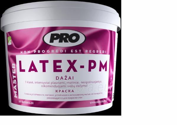 Paint, dispersiniai ' LATEX PM' 10l Paveikslėlis 1 iš 2 236510000115
