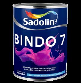 Dažai latekso Bindo 7 BW balti matiniai 5ltr.(kiaušinio lukšo blizgesys) Paveikslėlis 1 iš 1 236510000445