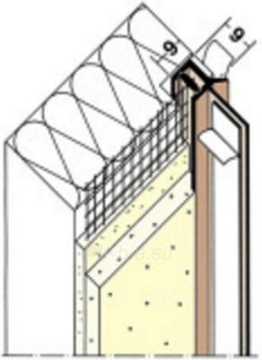 Deformacinis profilis 6 mm 2,4m Paveikslėlis 3 iš 3 236218000213