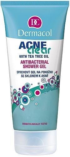 Dermacol AcneClear Antibacterial Shower Gel Cosmetic 200ml Paveikslėlis 1 iš 1 2508950000017