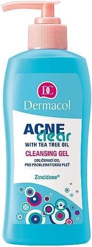 Dermacol AcneClear Cleansing Gel Cosmetic 200ml Paveikslėlis 1 iš 1 250840700153
