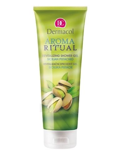 Dermacol Aroma Ritual Shower Gel Sicilian Pistachio Cosmetic 250ml Paveikslėlis 1 iš 1 2508950000024