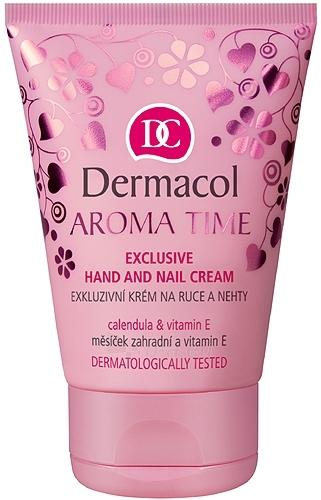 Dermacol Aroma Time-Exclusive Hand And Nail Cream Cosmetic 50ml Paveikslėlis 1 iš 1 250850400020