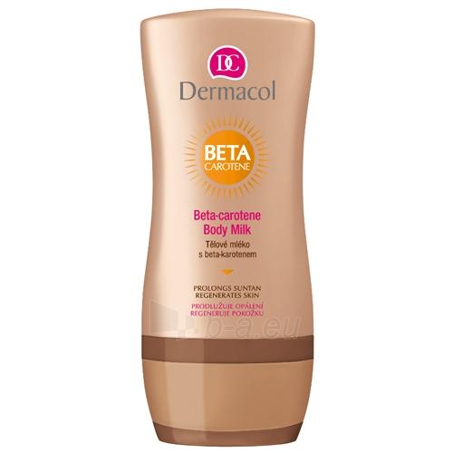 Dermacol Beta-Carotene Body Milk Cosmetic 200ml Paveikslėlis 1 iš 1 250850200138