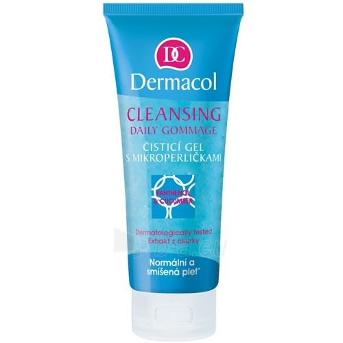 Dermacol Cleansing Daily Gommage Cosmetic 100ml Paveikslėlis 1 iš 1 250840700157