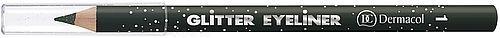 Dermacol Glitter Eyeliner No.1 Cosmetic 1,17g Paveikslėlis 1 iš 1 2508713000060