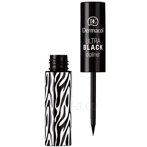 Dermacol Ultra Black Eyeliner Cosmetic 2,8ml Paveikslėlis 1 iš 1 2508713000062