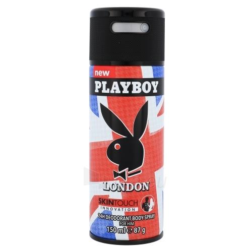 Dezodorantas Playboy London Deodorant 150ml Paveikslėlis 1 iš 1 2508910000294
