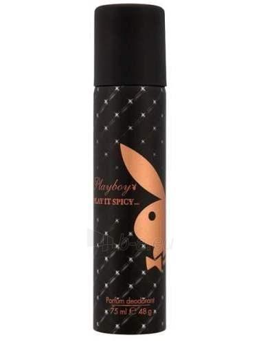 Dezodorantas Playboy Play It Spicy Deodorant 75ml Paveikslėlis 1 iš 1 2508910000301