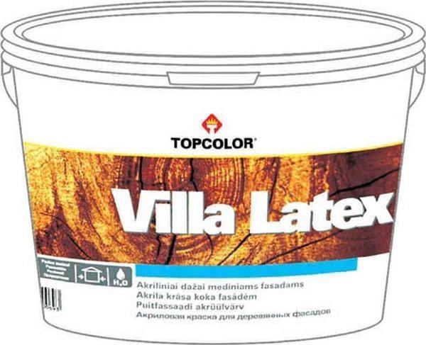 Disperse paint for wood Villa Latex 3l-2R Paveikslėlis 1 iš 1 236510000154